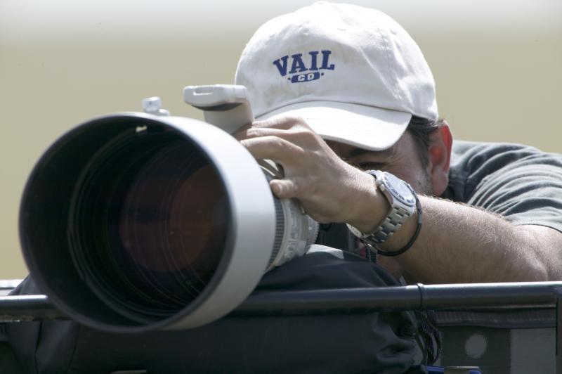 Canon 1200 mm telephoto power ( 600 mm + x2 Teleconverter)