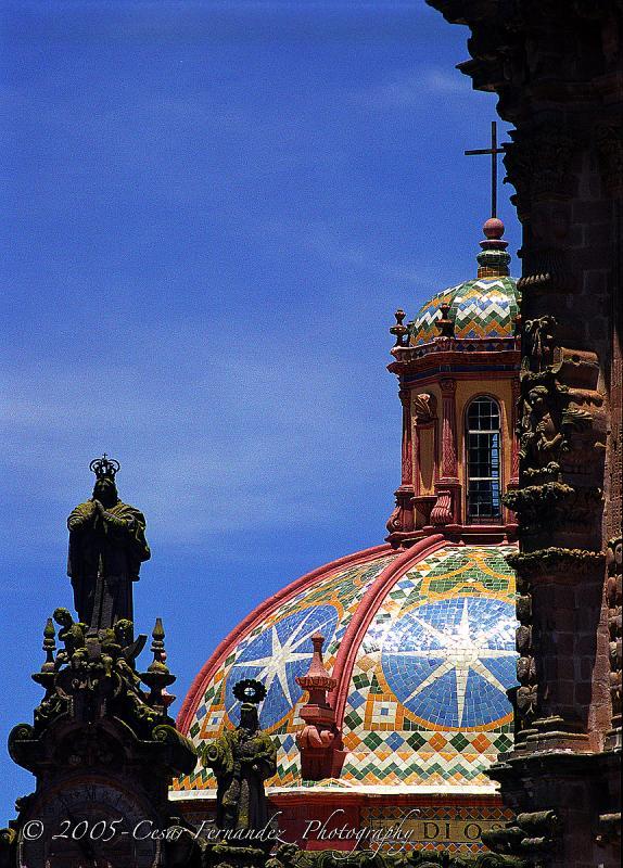 Cupula Iglesia, Tasco, Mexico
