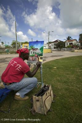Artist, Belize City